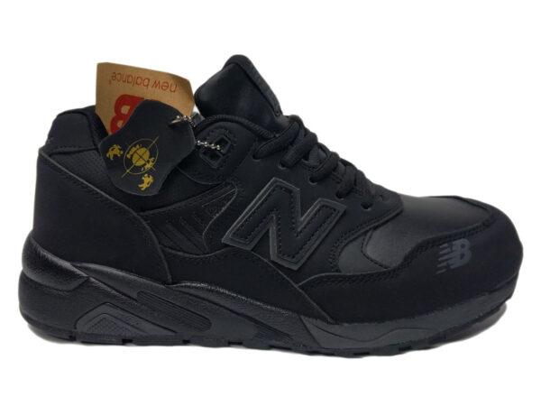 New Balance 580 на меху черные (40-45)