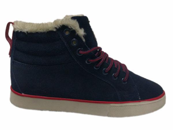 Adidas Ransom на меху темно-синие (40-45)