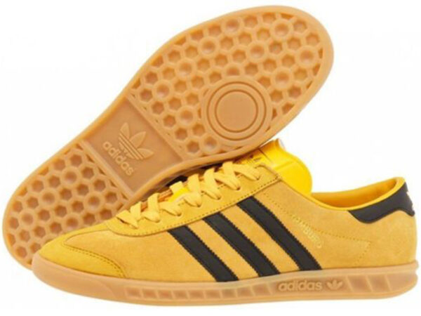 Adidas Hamburg желтые с черным (35-40)