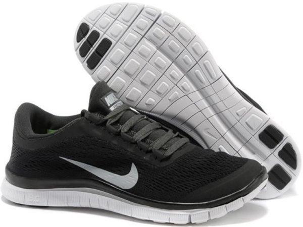 Nike Free Run 3.0 v5 черные (35-45)