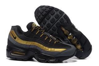 Nike Air Max 95 черные-золото (36-45)