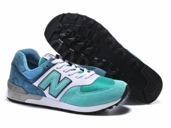 New Balance 576 сине-бело-бирюзовые (39-45)