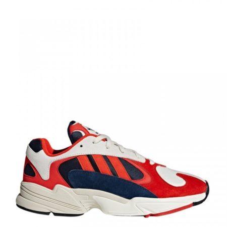 Кроссовки Аdidas Originals Yung-1 белые с красным и синим (35-44)