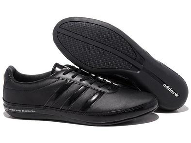 Adidas Porsche Design S3 leather black черные (40-45)