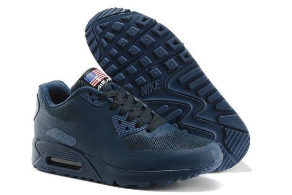 Nike Air Max 90 Hyperfuse синие (41-45)