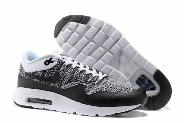 Nike Air Max 87 Ultra Flyknit Черно-серые 40-44
