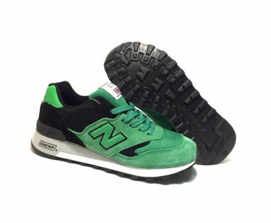 New Balance 577 черно-зеленые (40-44)