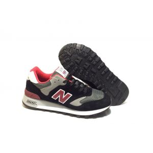 New Balance 577 черные с красным (40-44)