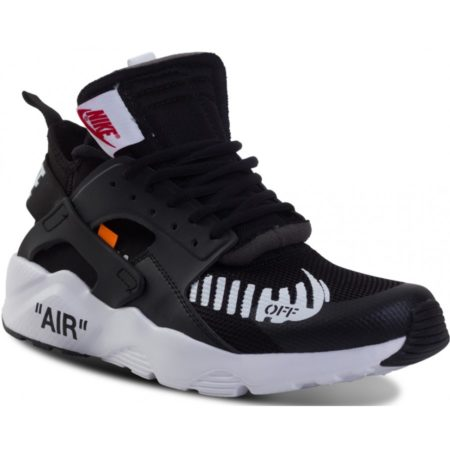 Nike Air Huarache OFF-WHITE x черно-белые (40-44)