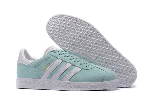 "Adidas Gazelle ""Ice Mint"" мятные с белым (35-39)"
