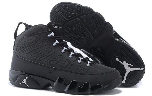 Nike Air Jordan 9 Retro черные (40-44)