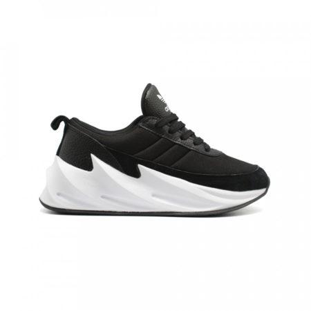 Кроссовки Adidas Sharks черно-белые (35-44)