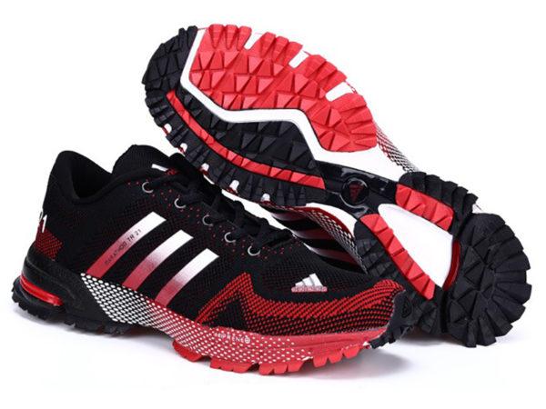Adidas Marathon tr21 черно-красные (39-44)