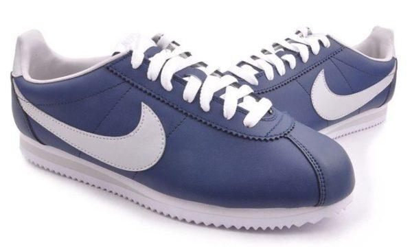 Nike Cortez синие с белым (39-43)