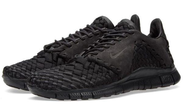 Nike Free Inneva Woven II черные (Black) (35-43)