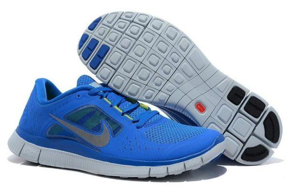 Nike Free Run 5.0 V3 синие (35-39)