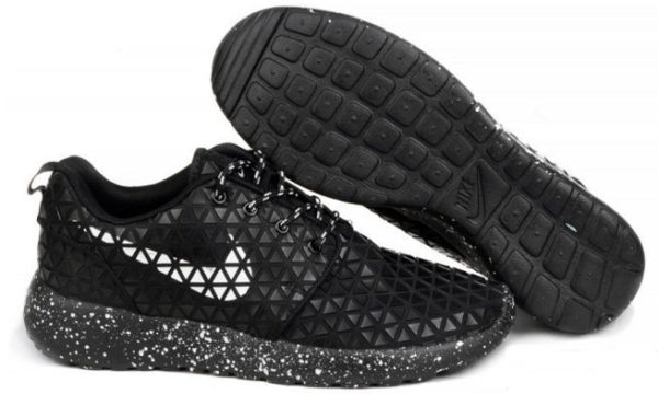 Nike Roshe Run Metric QS черные (35-45)