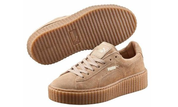 Бежевые кроссовки Puma