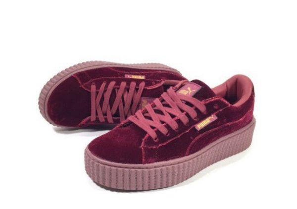 Бордовые кроссовки Puma