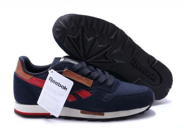 Reebok Classic Leather Utility (Blue/Red) (40-44)