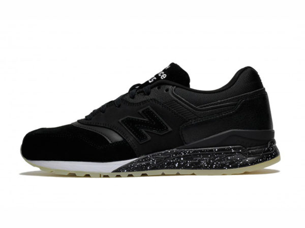 New Balance 997.5 замшевые черные с белым (40-44)