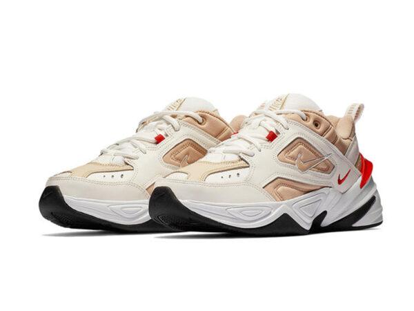 Nike m2k tekno white bronze мужские 35-39