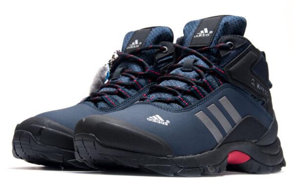 Зимние Adidas Terrex Climaproof с мехом синие (40-45)