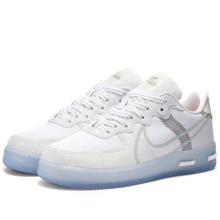 Nike Air Force 1 React QS белые мужские (40-44)