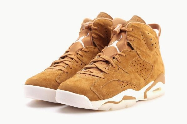 Nike Air Jordan 6 Travis Scott хаки нубук мужские (40-45)