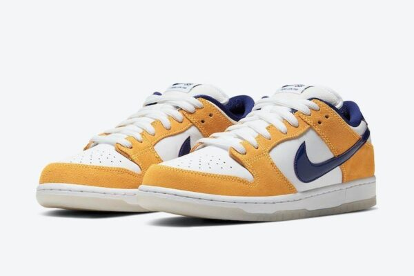 Nike SB Dunk Low Laser Orange песочно-белые (40-44)