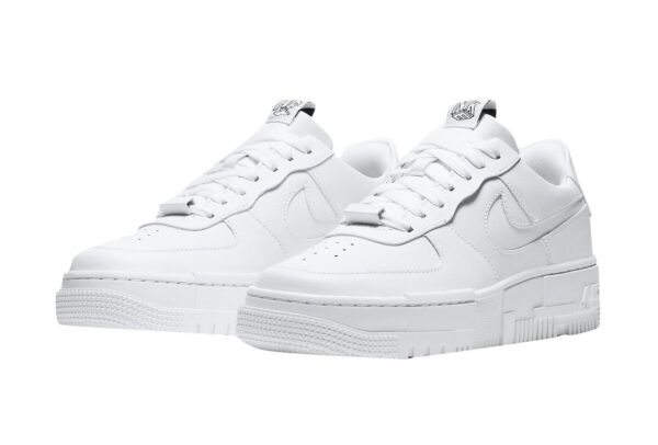 Nike Air Force 1 Low Pixel Triple белые (35-39)